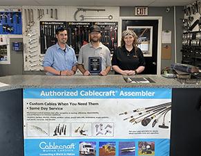 Cablecraft Assembler Award - Bearing Service and Supply