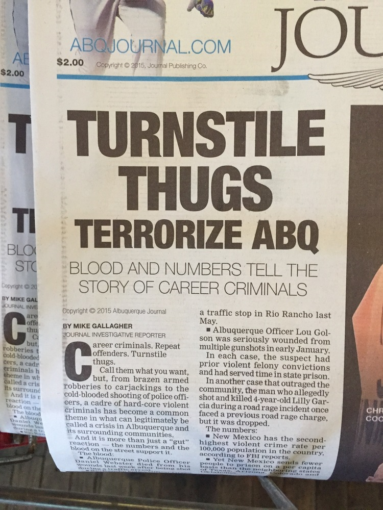 ABQ Journal Sees Humans as Garbage - Sitterly Law, LLC