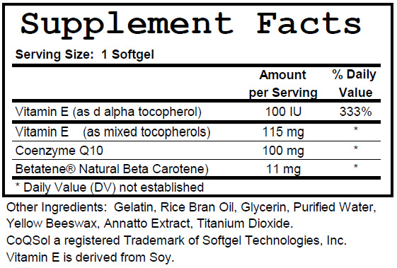 CoQ10_ingredients