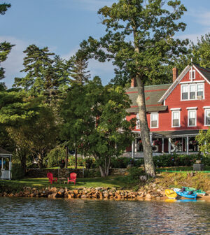 Relax with the Call of the Loons at The Lake House at Ferry Point 1
