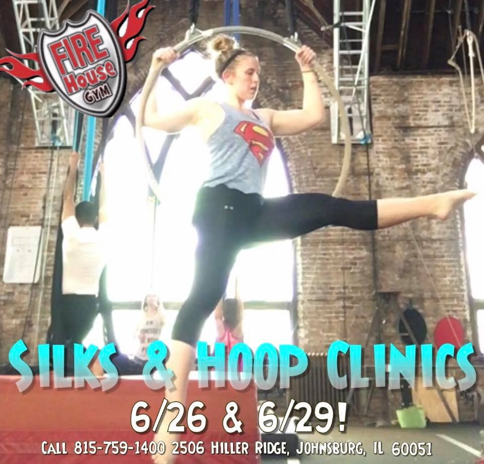 Arial Skills and Lyra Hoop Clinics