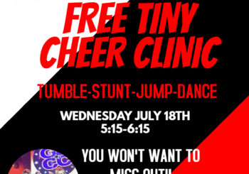FREE Tiny Cheer Clinic