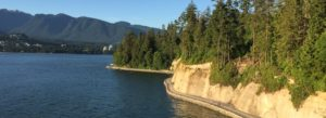 Seawall, Stanley Park, Vancouver, BC