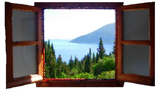 Θαλασσινό παράθυρο