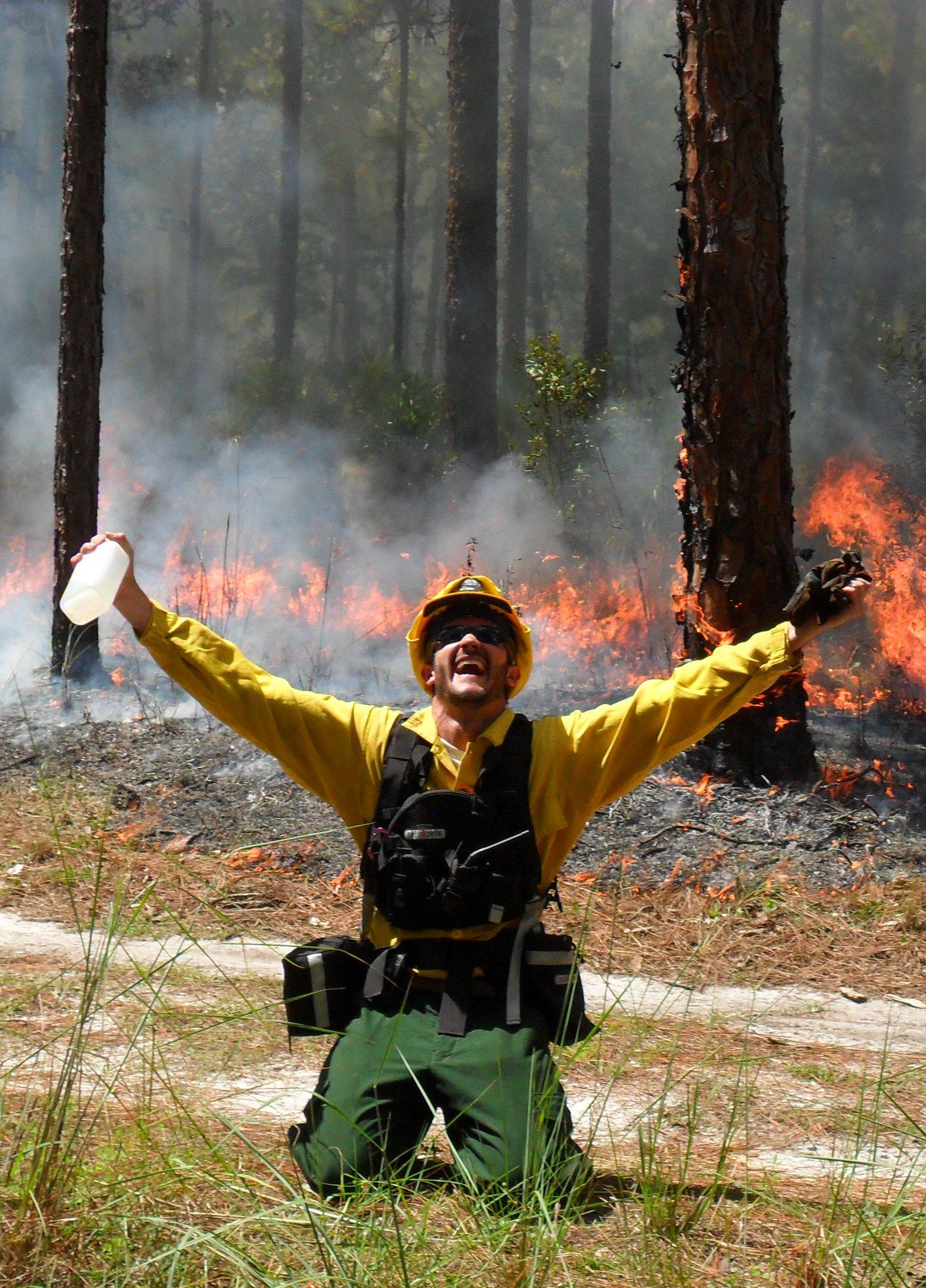 Florida Park Service - Controlled Burn