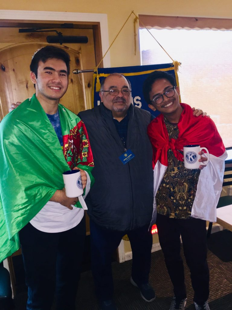YHS Key Club – Foreign Exchange Students | Sierra Oakhurst Kiwanis