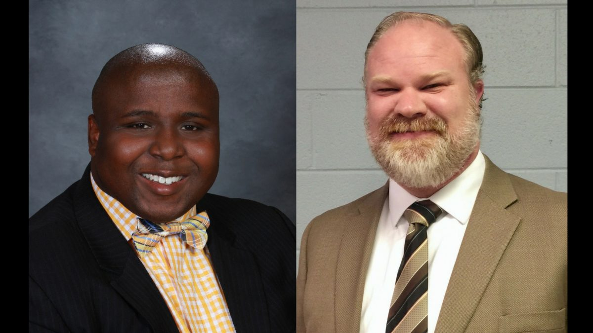 Attorneys Gaven Norris and Marc Chastain