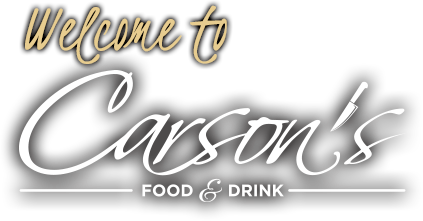 Welcome to Carson's Food & Drink
