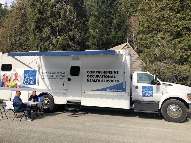 Mobile Clinic Setup On Site