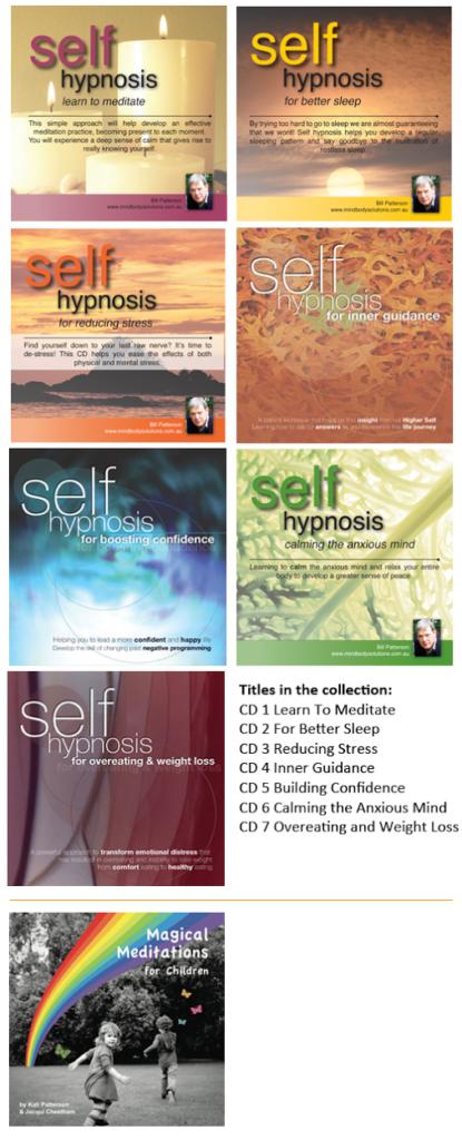 Self hypnosis recordings