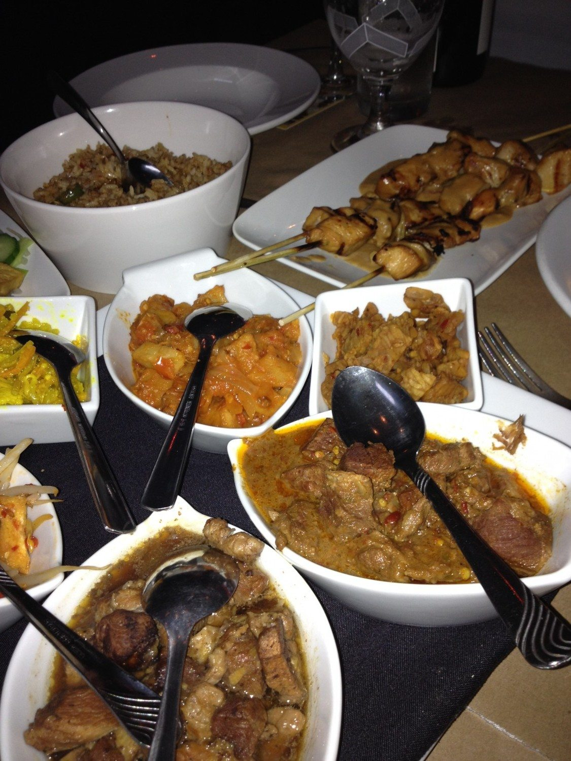 Dishes-Catering-Indian-Meal