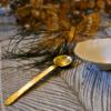 Rado Gold Metal Serving Spoon