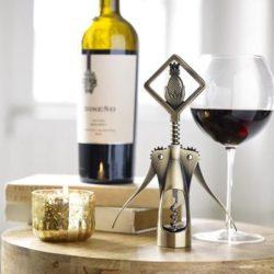Foster Metal Pineapple Wine Opener