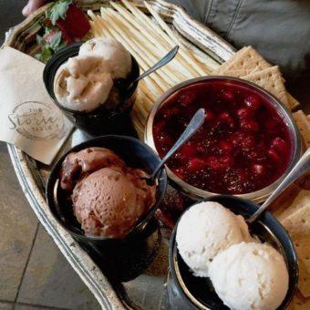 """An """"Ice Cream Social"""" Gift Set"""