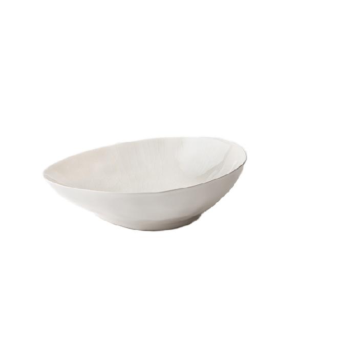 Celerie White Porcelain Soup Bowls (set of two)