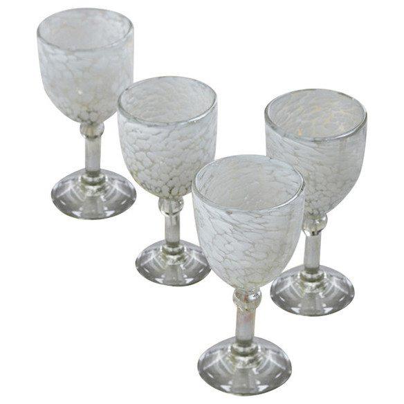 Phoebe Handblown Glass Goblets (set of four)