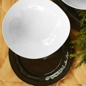 """A """"Black & White"""" Gift Set (set of four)"""