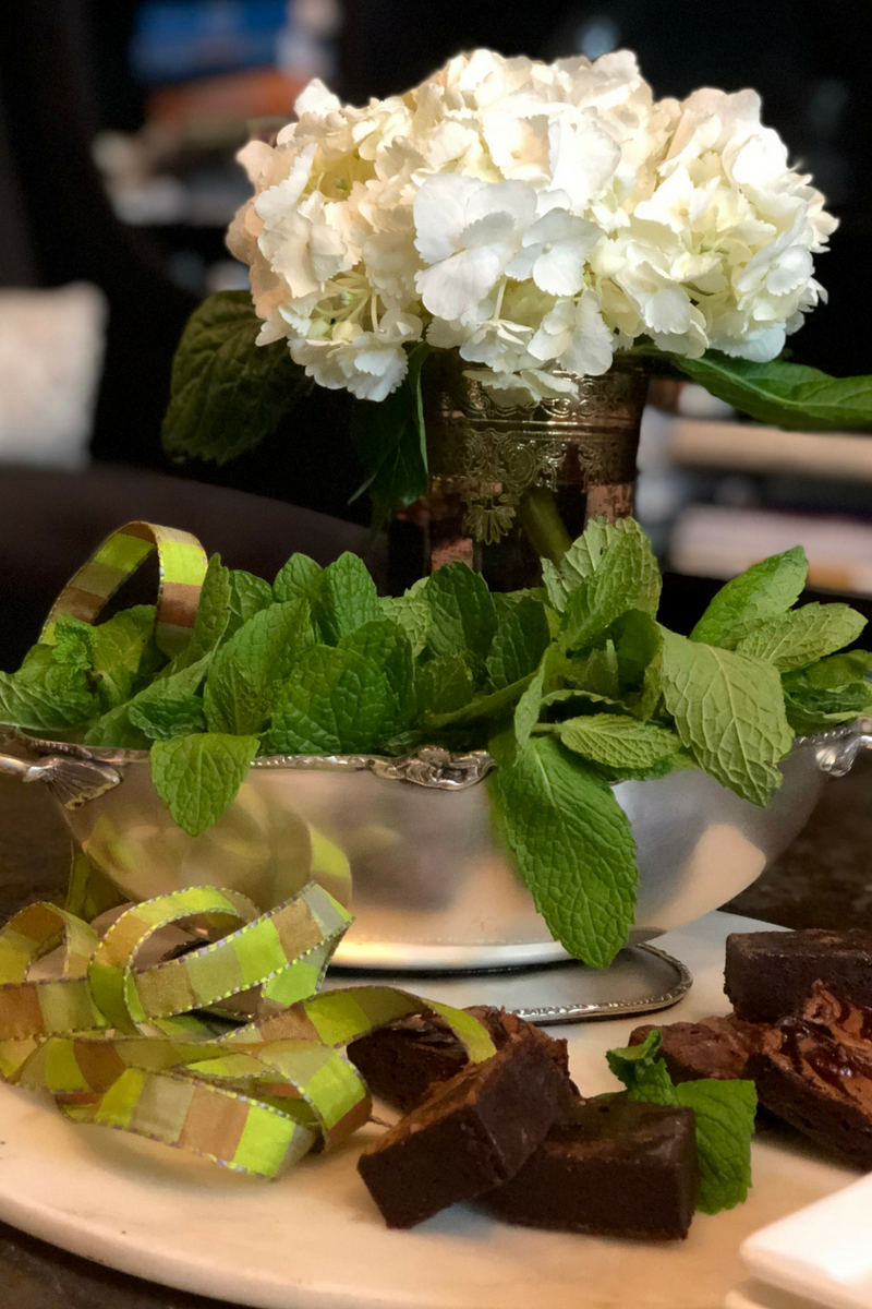 Fresh Edible Herb Centerpieces For Weddings Dinners More