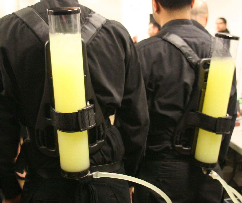 Mitzvah Catering Nitro Lemonade and Drink Backpacks