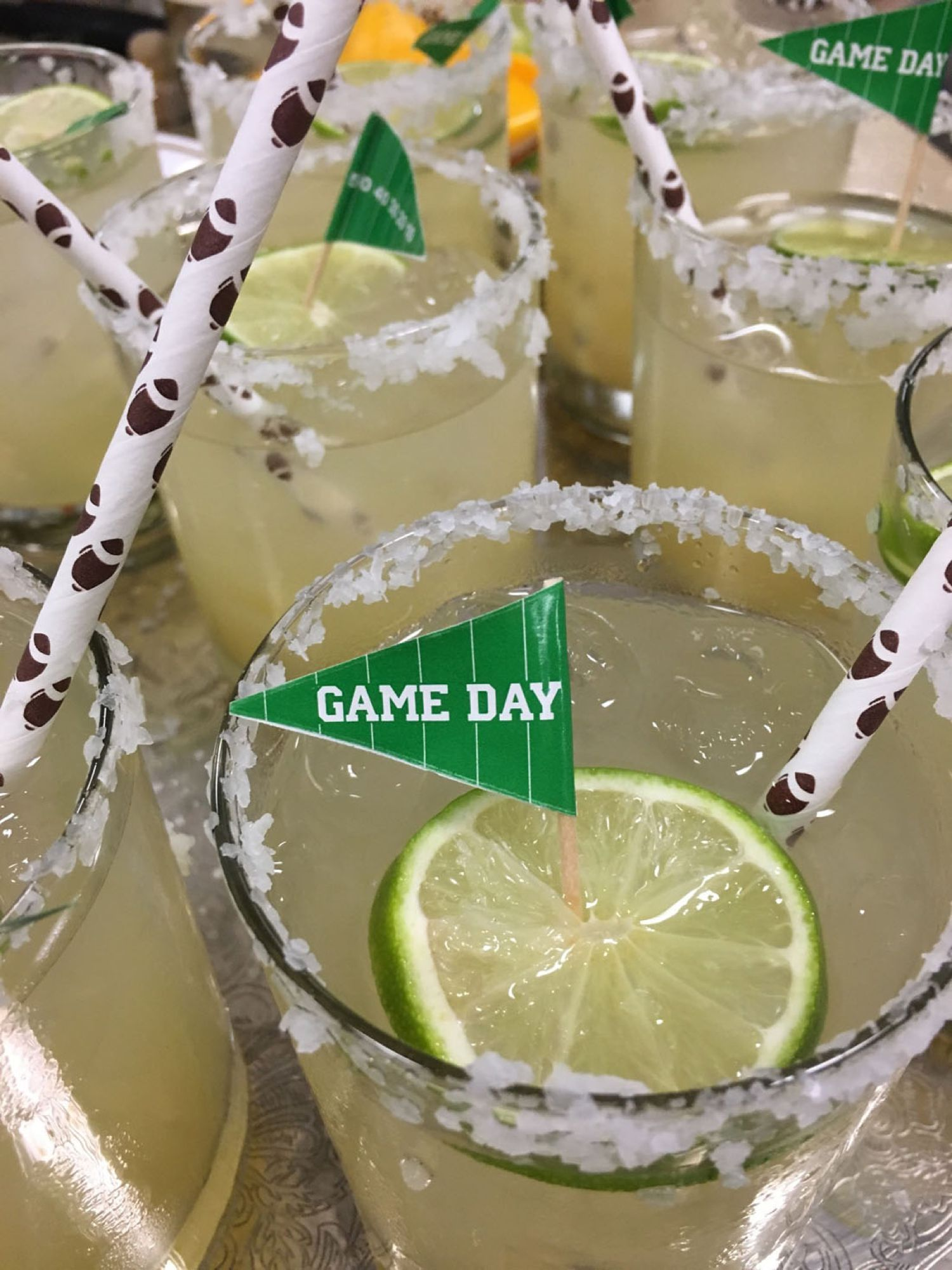 Mitzvah Catering Team Sports Theme Drinks