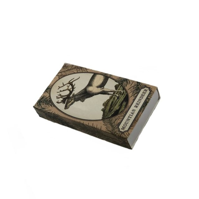 Reindeer Decorative Matches in a Box