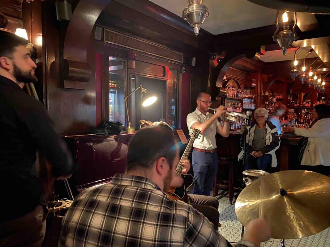 The Rum House is a Times Square bar at the Edison Hotel