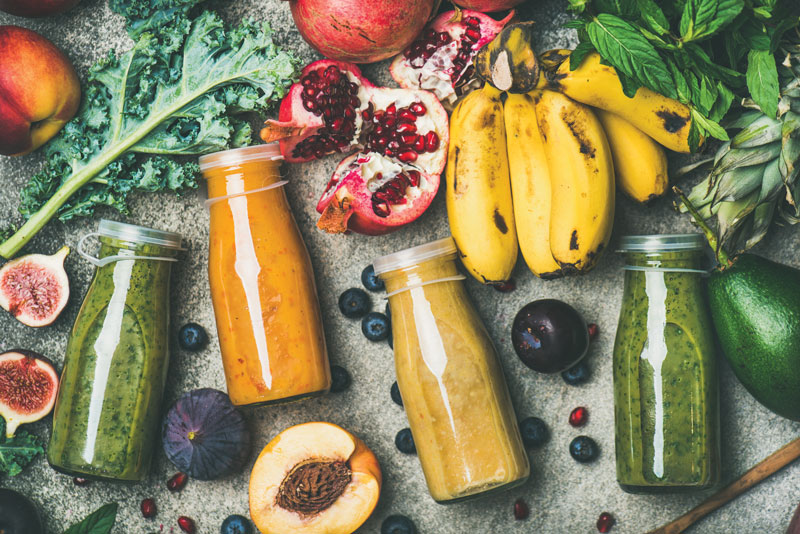 Drinking Smoothies Provides Multiple Benefits