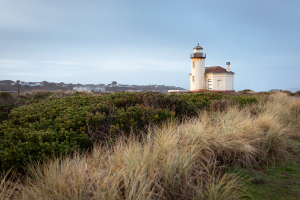 Coquille River Lighthouse in Bandon Oregon - December 2018 - Web Size (1 of 1)