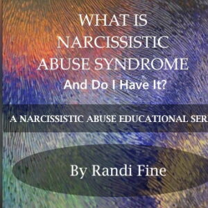 CD cover for Narcissistic Abuse MP3 Platinum Series Lesson Four