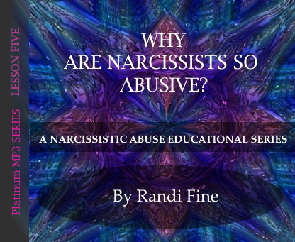 CD cover for Narcissistic Abuse MP3 Platinum Series Lesson Five