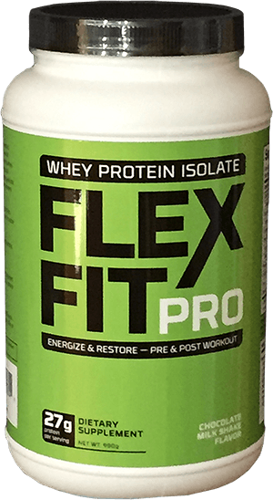 Flex fit pro chocolate container image