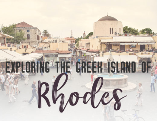 Exploring the Greek island of Rhodes | Talk a trip through the ages on the Greek island of Rhodes. Here you can stroll through the ancient streets in the UNESCO world heritage site of Old Town Rhodes or explore the pedestrian only town of Lindos. Also, take in the sun on the beach while you look out at the Mediterranean. | My Wandering Voyage