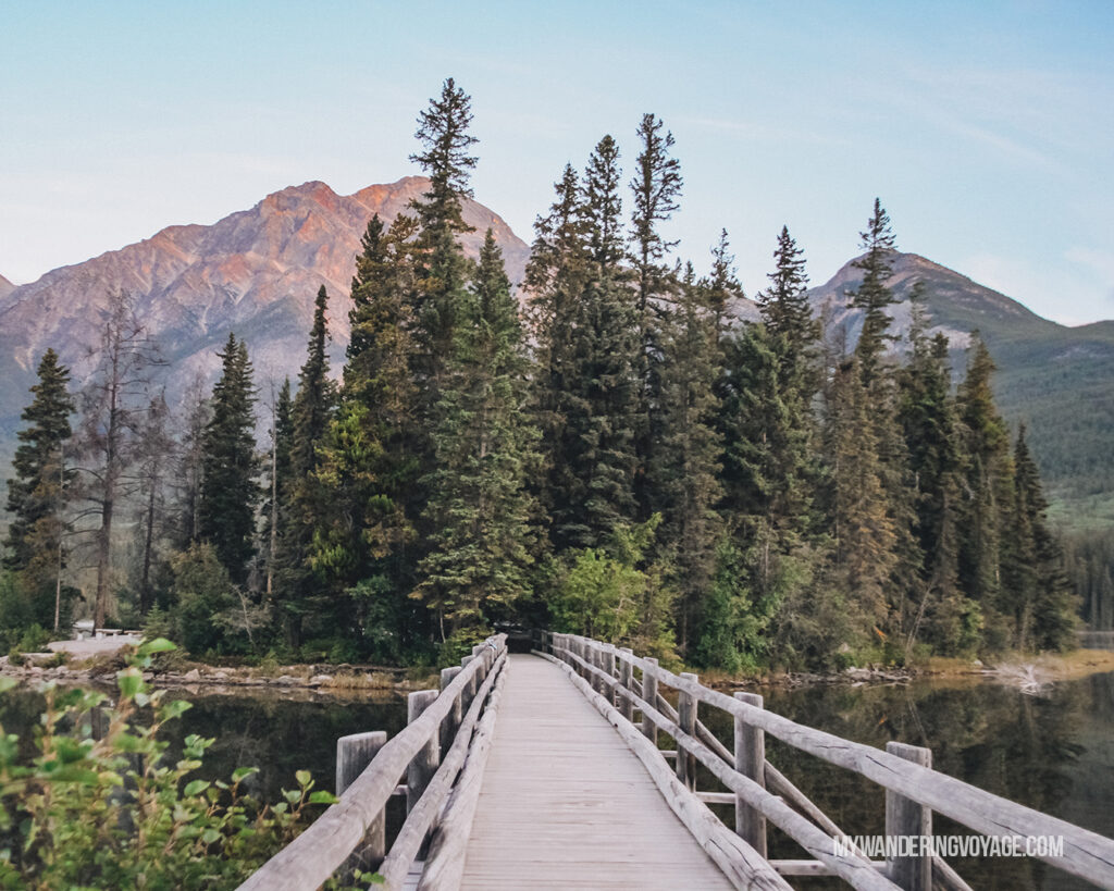 Pyramid Island | Top things to see in Jasper and Banff | My Wandering Voyage