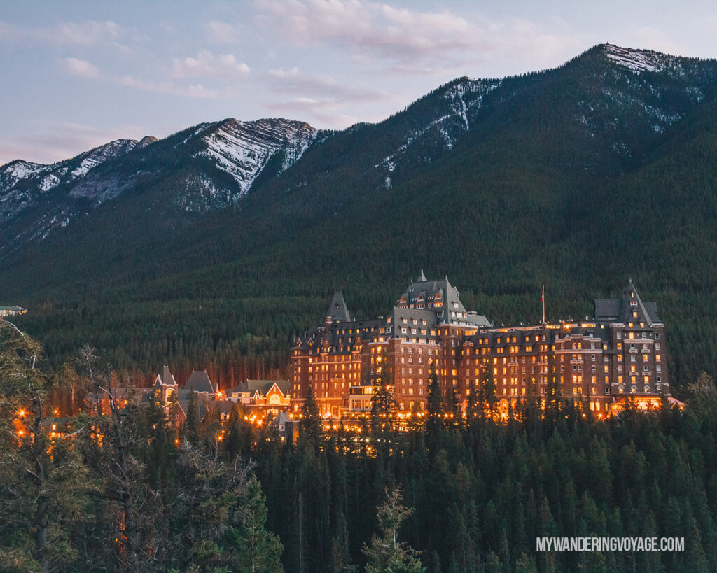 Fairmont Banff Spring | Top things to see in Jasper and Banff | My Wandering Voyage