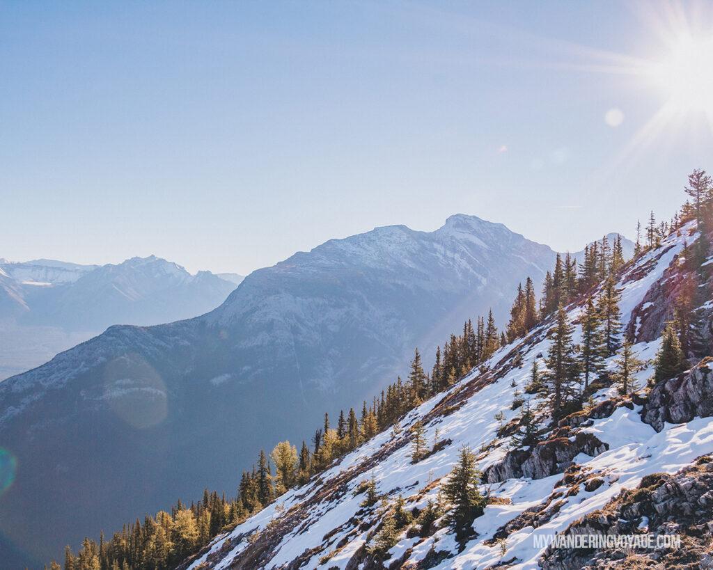 Banff Gondola views | Top things to see in Jasper and Banff | My Wandering Voyage