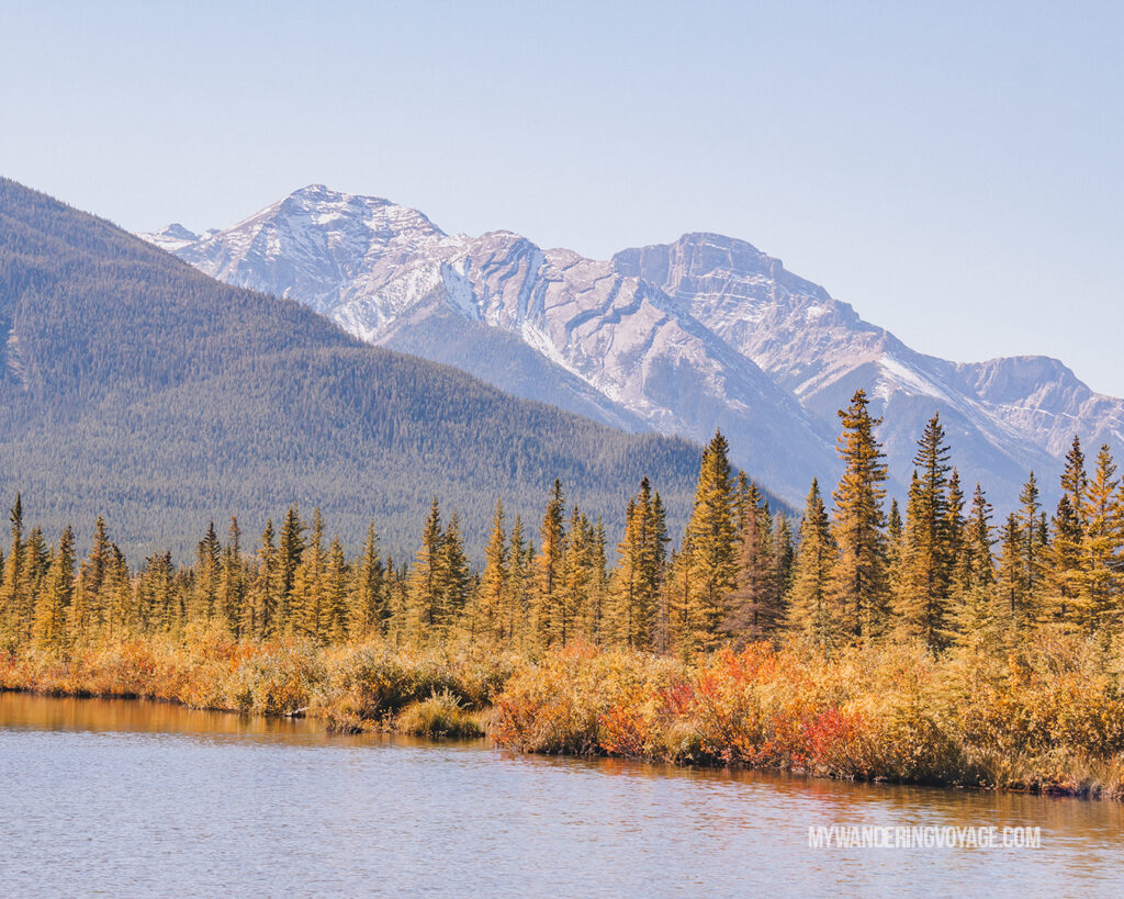 Vermillion Lakes | Top things to see in Jasper and Banff | My Wandering Voyage