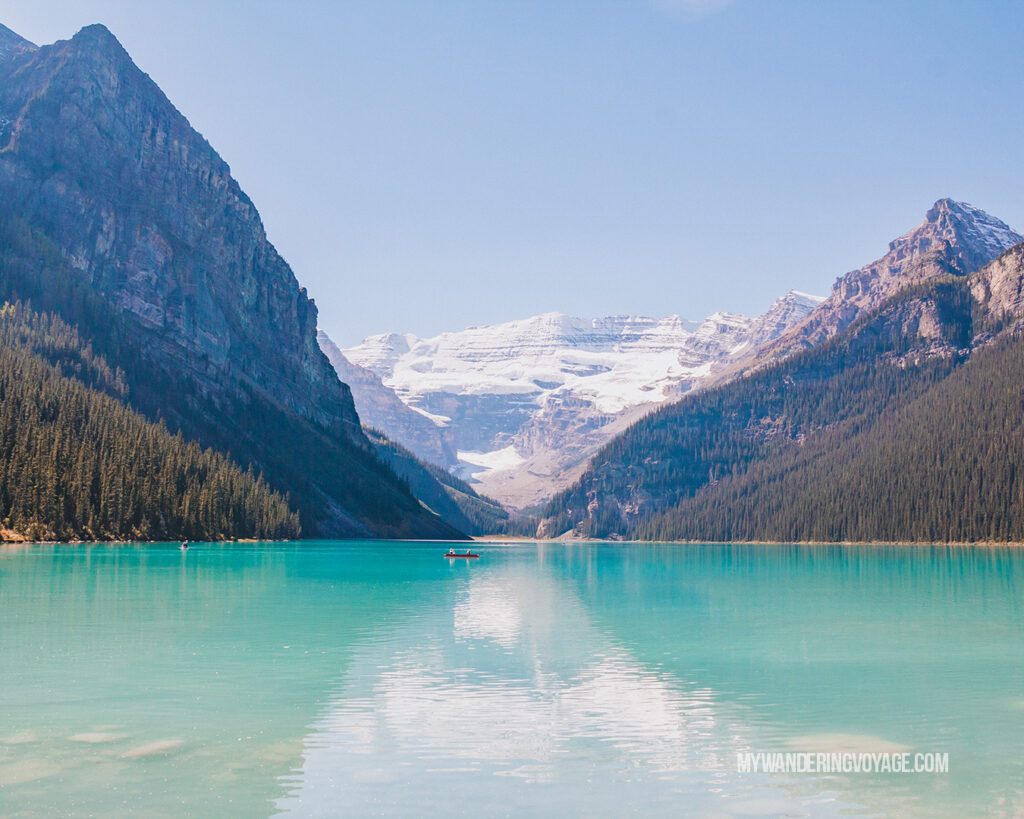 Lake Louise | Top things to see in Jasper and Banff | My Wandering Voyage