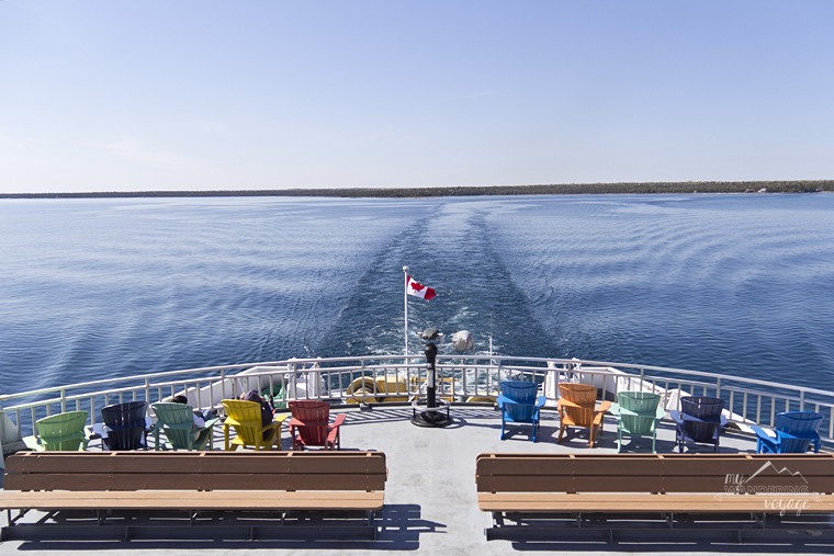 Chi-cheemaun from South Baymouth to Tobermory, Ontario, Canada - Fire and Ice: A Canadian Road Trip | My Wandering Voyage travel blog