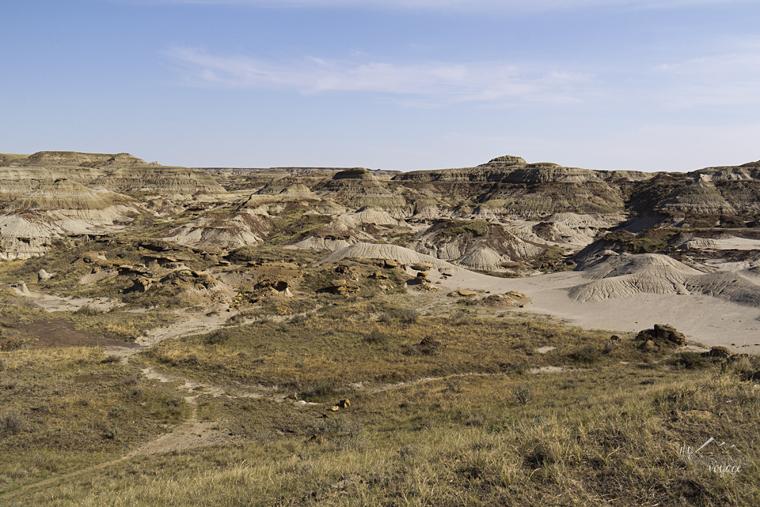 Alberta Badlands, Dinosaur Provincial Park, Alberta - Fire and Ice: A Canadian Road Trip | My Wandering Voyage travel blog