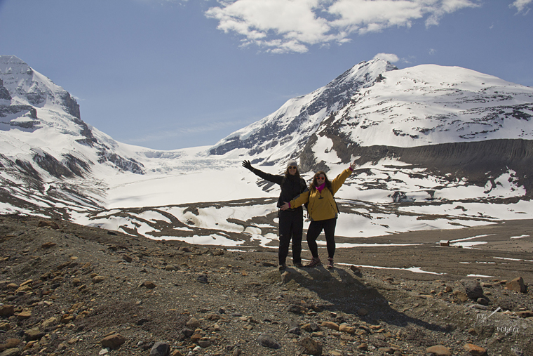Athabasca Glacier, Alberta - Fire and Ice: A Canadian Road Trip | My Wandering Voyage travel blog