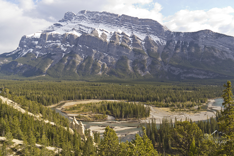 Banff hoodoos - Fire and Ice: A Canadian Road Trip | My Wandering Voyage travel blog