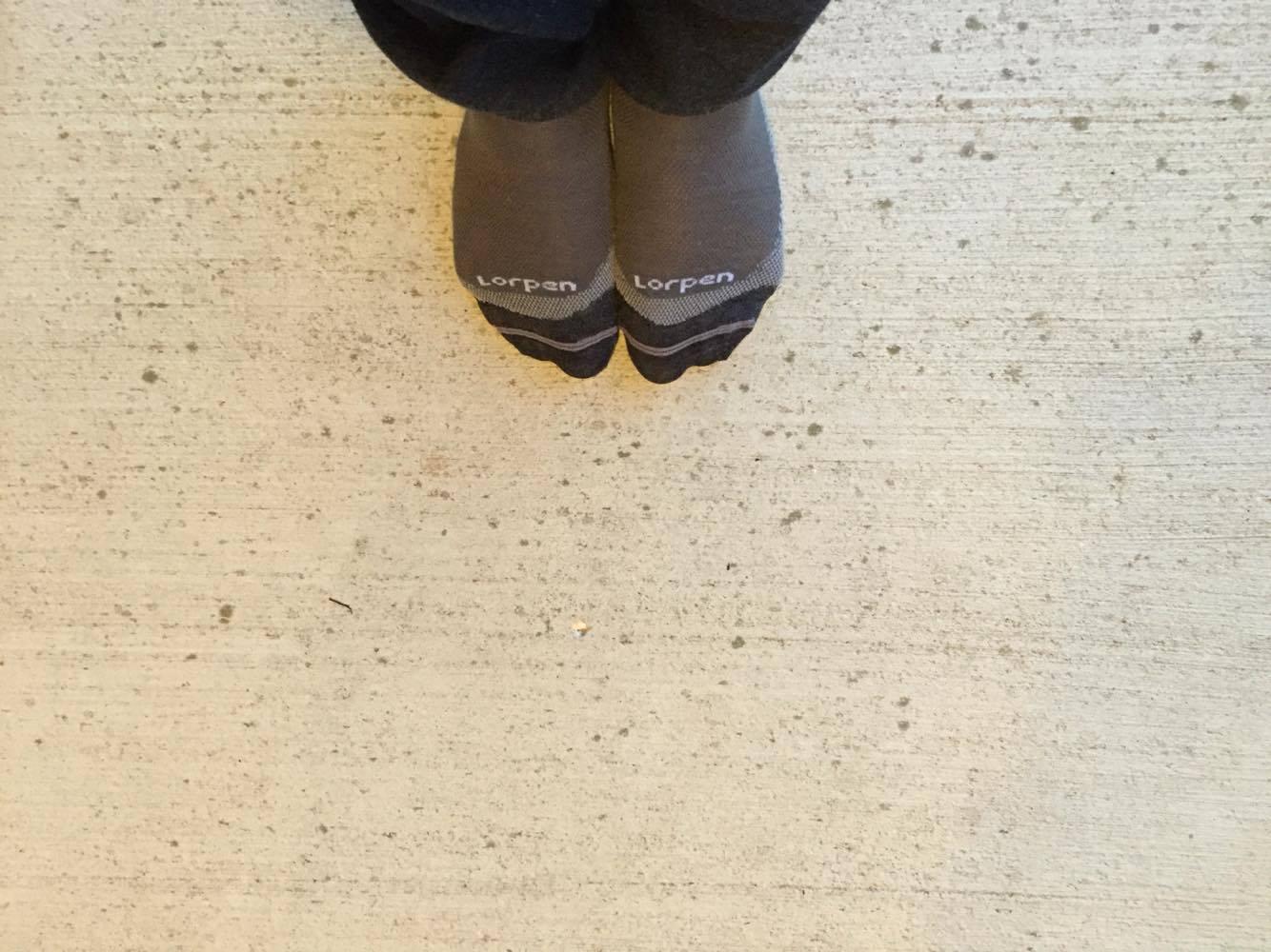 Lorpen Liner Sock review