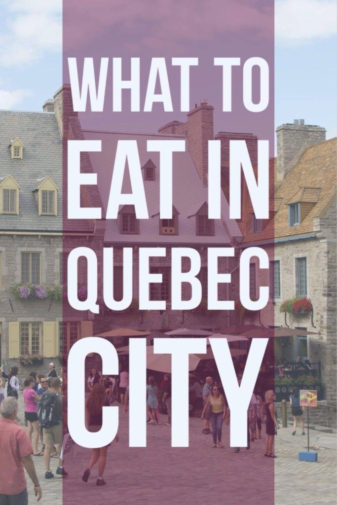 What to eat in Quebec City - the best stops to get delicious Quebec cuisine in the city that is a little slice of Europe in Canada | My Wandering Voyage Travel Blog #travel #quebeccity #canada #quebec