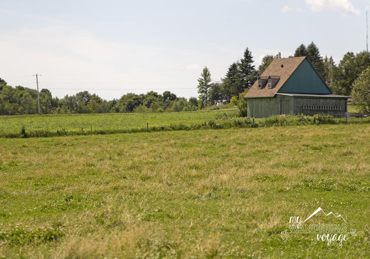 Countryside in Quebec