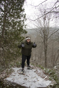 Crawford Lake Conservation Area lookout - Ontario Trails | My Wandering Voyage travel blog