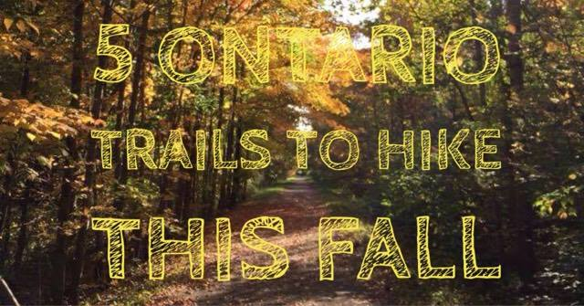 5 Ontario Trails to hike this Fall