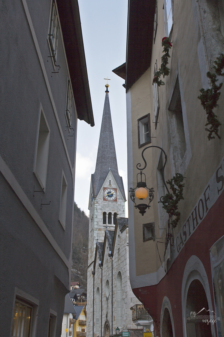 Church views Hallstatt, Austria | My Wandering Voyage travel blog