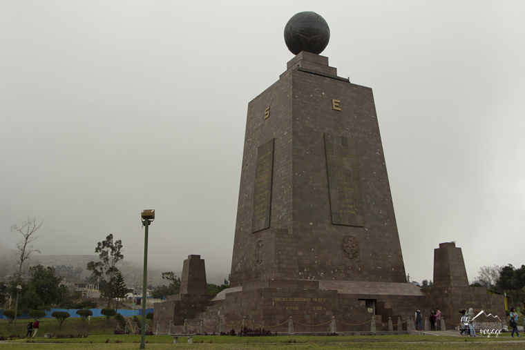 Middle of the World monument in Quito, Ecuador | My Wandering Voyage Travel Blog