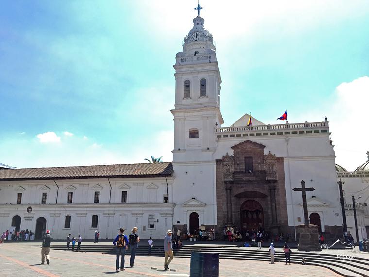 Plaza Santo Domingo in Quito, Ecuador | My Wandering Voyage travel blog