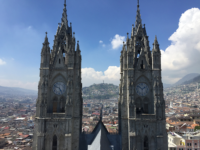 Basilica del Voto Nacional in Quito, Ecuador | My Wandering Voyage Travel Blog